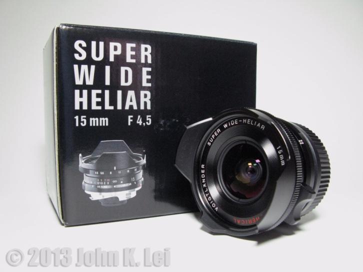 Voigtlander Super Wide Heliar 15mm F4.5